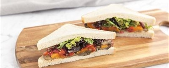 Nut Free Recipe (may contain traces) - Gourmet Sandwich