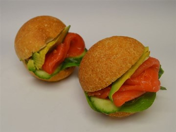 Rolls - Small (Cocktail): Smoked Salmon