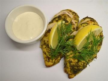 Protein Plus: Chicken Chermoula with a Pistachio and Coriander Pesto (GF/DF)