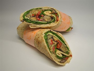 Lighter Choice Wraps: Mediterranean Vegetable (v)