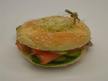Bagel - Small: Smoked Salmon
