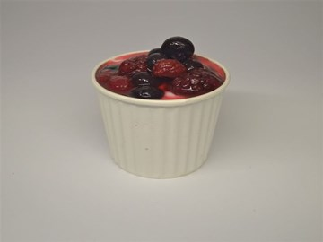 Breakfast Pots Small: Honey Yoghurt & Mixed Berries (GF)