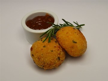 Arancini: Gluten Free Zucchini, Fetta & Herb (V/GF)