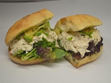 Turkish Bread - Medium: Chicken & Avocado