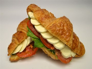 Croissants - Filled Small: Bocconcini, Tomato & Basil