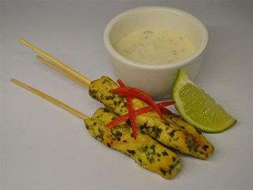 Halal Skewers: Cocktail- Chemoula Chicken