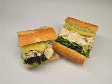 Baguette - Small Chicken, Avocado & Mixed Leaves