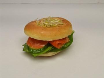 Bagel - Breakfast: Smoked Salmon & Cream Cheese