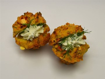 Piped Savoury Moaves - Small