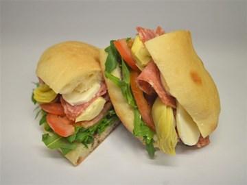 Turkish Bread - Medium:  Salami