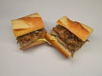 Baguette - Small Mustard Beef