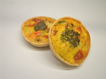 Quiche - Medium: Vegetarian Based (V)