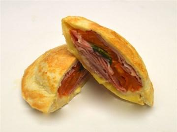 Jaffles: Ham Cheese Tomato