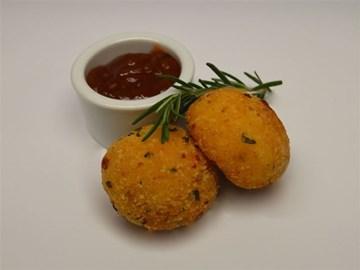 Arancini: Zucchini, Fetta & Herb (V)