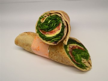 Back 2 Basic Wrap: Salami