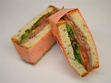 Gluten Free Sandwich: Beef & Salad