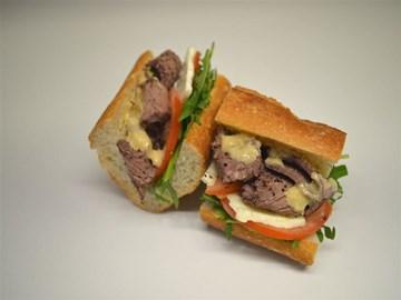 Baguette - Small Lamb & Hommus