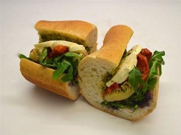 Baguette - Small Pesto & Artichoke (V)
