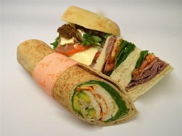 Mixed Variety Sandwiches - Basics, Wraps & Medium Turkish