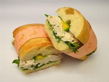 Turkish Bread - Large: Chicken & Avocado