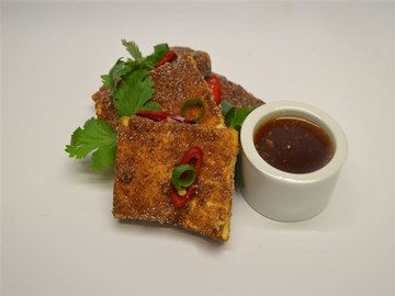 Protein Plus: Vegan - Salt & Pepper Tofu with Chilli, Ginger & Soy Dipping Sauce (GF/VEGAN/HALAL)