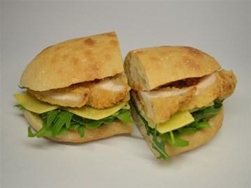 Turkish Bread - Medium: Chicken Schnitzel