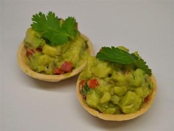 Tarts: Avocado Salsa with Lemon & Coriander (Vegan)
