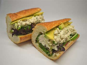 Baguette - Large Chicken, Avocado & Mixed Leaves