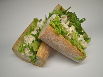 Wholemeal Baguette - Chicken, Avocado & Mixed Leaves