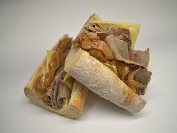 Wholemeal Baguette - Mustard Beef