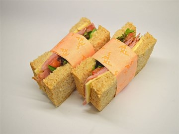 back 2 basics sandwiches: Ham and Swiss Cheese