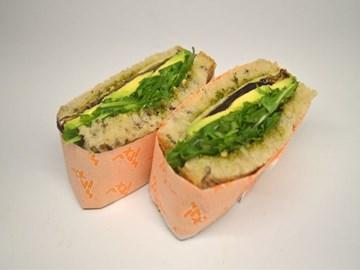 Sexy Legs - Pesto, Avocado & Eggplant (V)