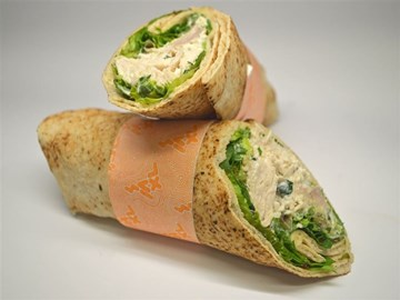 Halal Back 2 Basic Wrap: Chicken