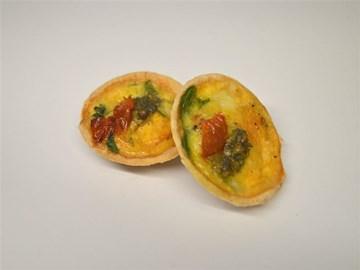 Quiche - Small: Vegetarian Based (V)
