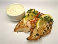 Protein Plus: Chicken with Lemon & Thyme  with Garlic & Seeded Mustard Sour Cream (GF)