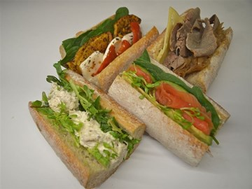 Wholemeal Baguette's Assorted