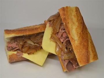 Baguette - Large Mustard Beef