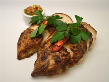 Protein Plus: Chicken in Cajun Spices with Chipotle Aioli (DF)