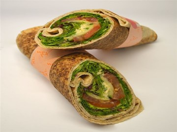 Halal Lighter Choice- Salad & Hommus
