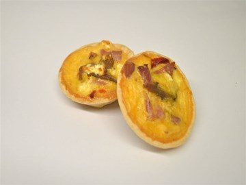 Quiche - Small: Meat Based