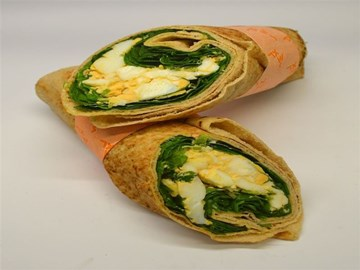 Breakie Lighter Choice: Egg and Spinach