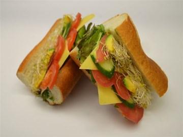 Baguette - Large Cheese & Salad (V)