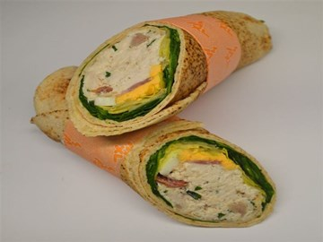 Lighter Choice Wraps: Chicken Caesar