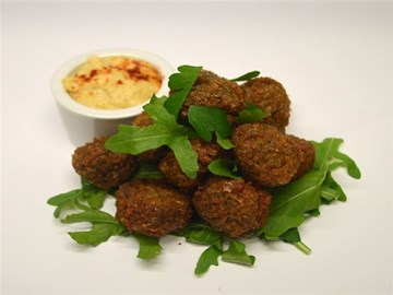 Protein Plus: Vegan - Falafel Balls with Hommus (GF/VEGAN/HALAL)