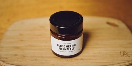 Blood Orange Marmalade made the Traditional Sicilian Way (300g)