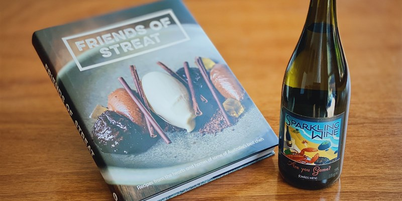 Friends of STREAT Book and a Tipple