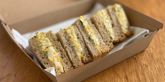 Chopped Egg Sandwich Points (df,v) (4pcs)