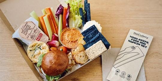 Boardroom Grazing Box (Zucchini Fritto)