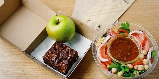 Chickpea Salad Lunch Box (gf, v)
