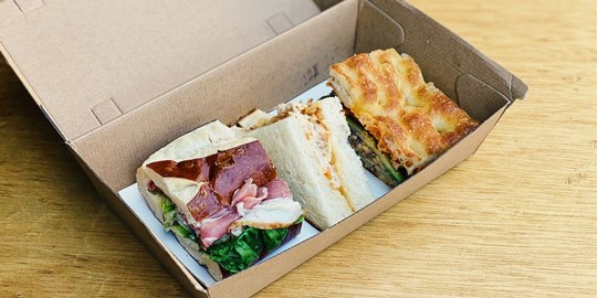 Vegetarian  Sandwich Assortment - Individually Wrapped (v)